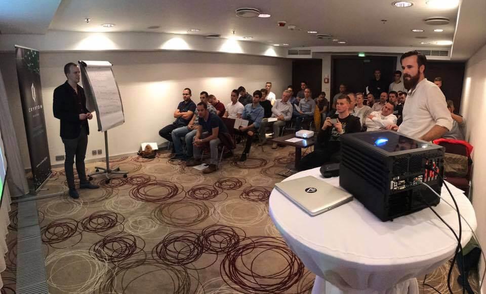 Crypton Digital - prezentácia ťažby kryptomien v Košiciach