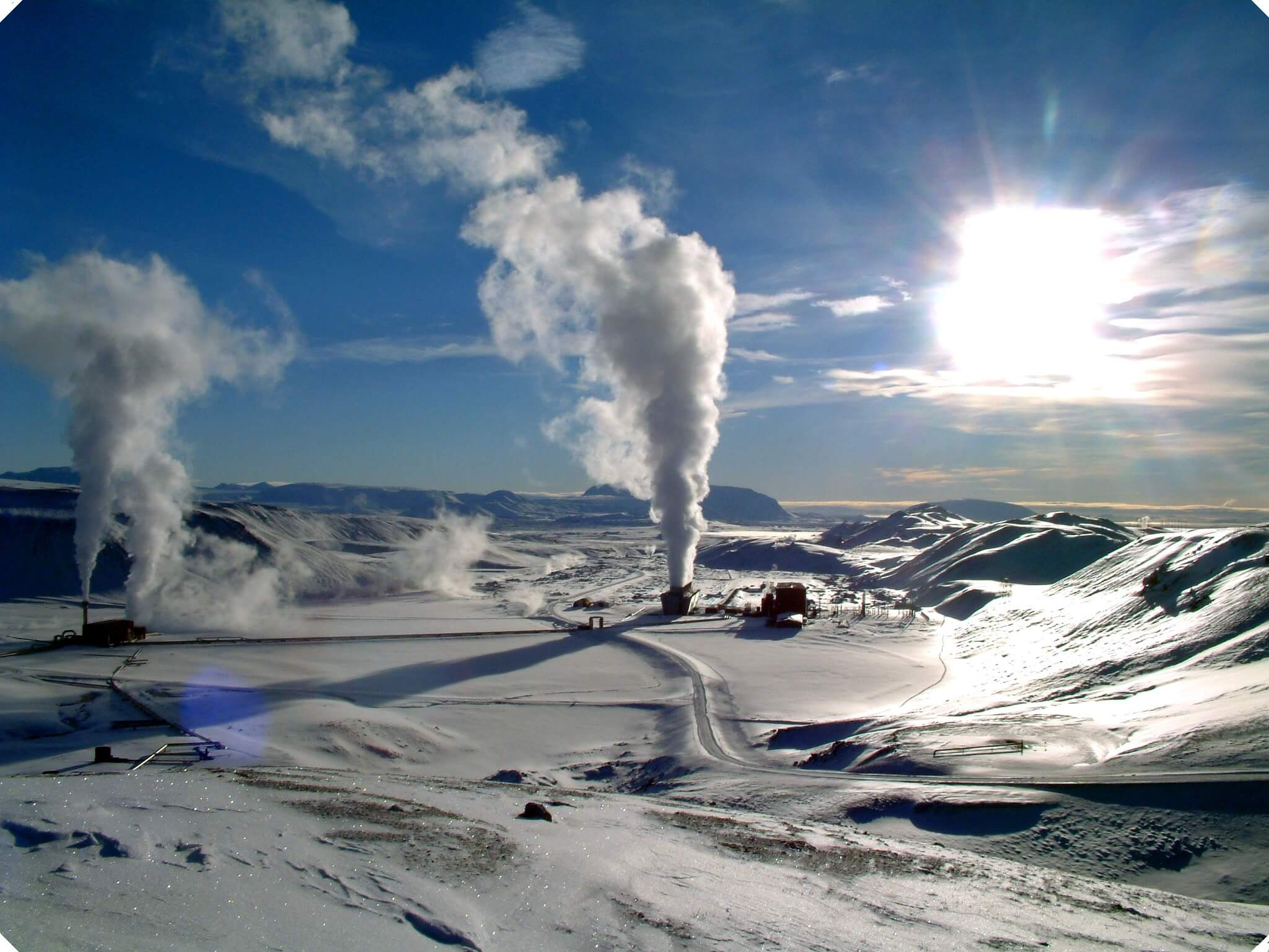 Bitcoin a geotermálna energia na Islande
