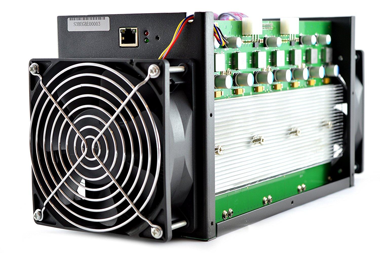 ťaženie Bitcoinov - asic antminer