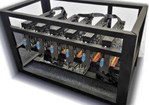 GPU MINING RIG na Ťažbu Kryptomien ✅ Výroba na  Mieru (od 2015)