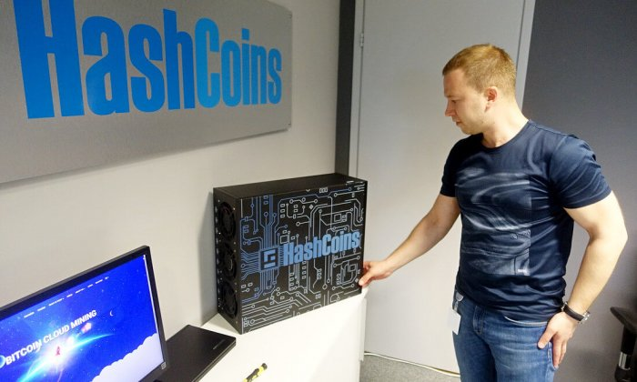 CEO Hashflare - ťažba kryptomien