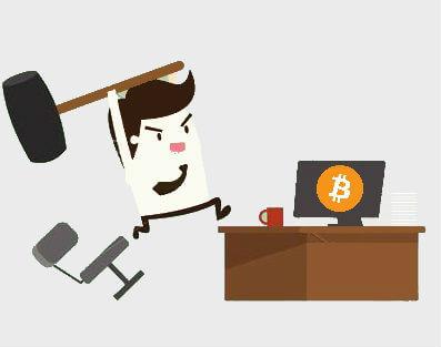 Bitcoin a ťažké začiatky1