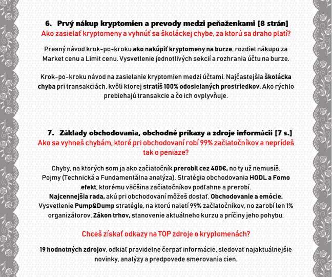 KryptoKurz Obsah 6-7
