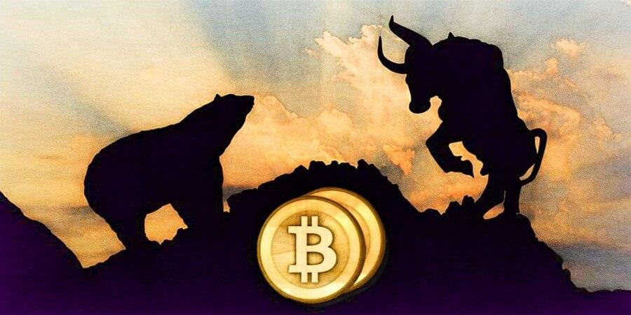 Kryptomeny 2018 zlom Bull vs Bear