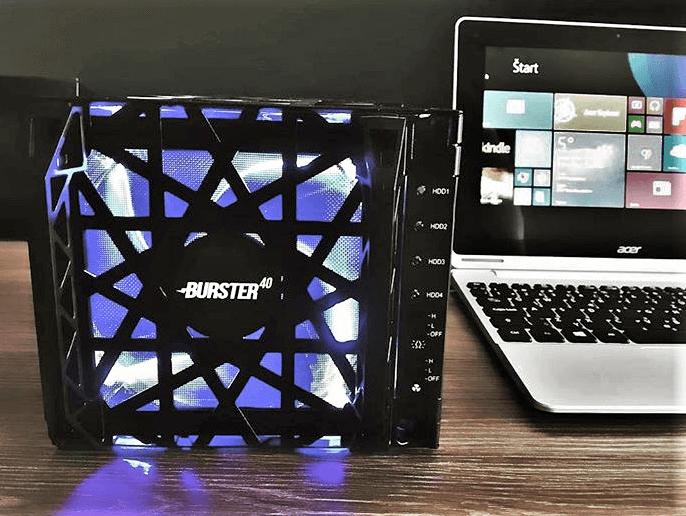 Burster miner Hard-disk ťažba_Ako ťažiť kryptomeny.sk