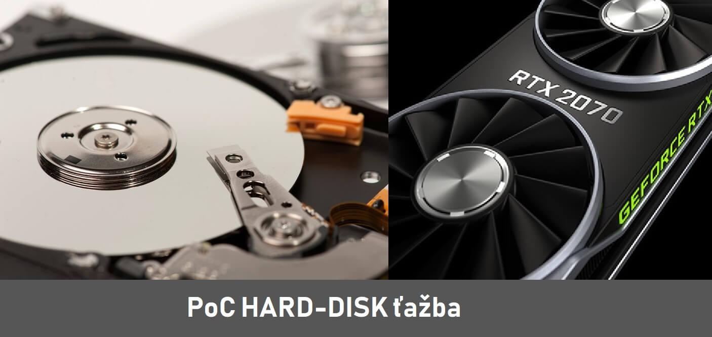 Hard-disk ťažba. 324% dlhšia životnosť, 92% nižšie náklady
