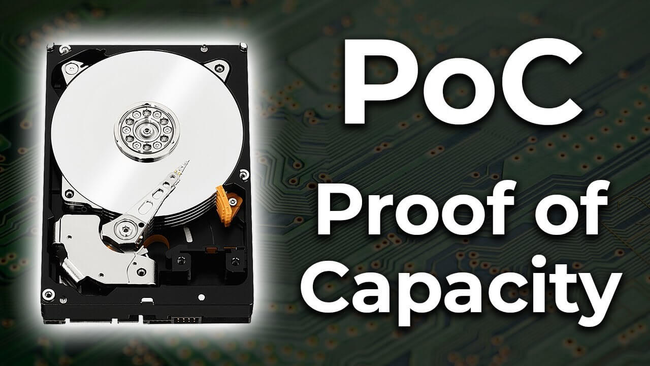 Ťažobné protokoly : PoC (Proof of Capacity)