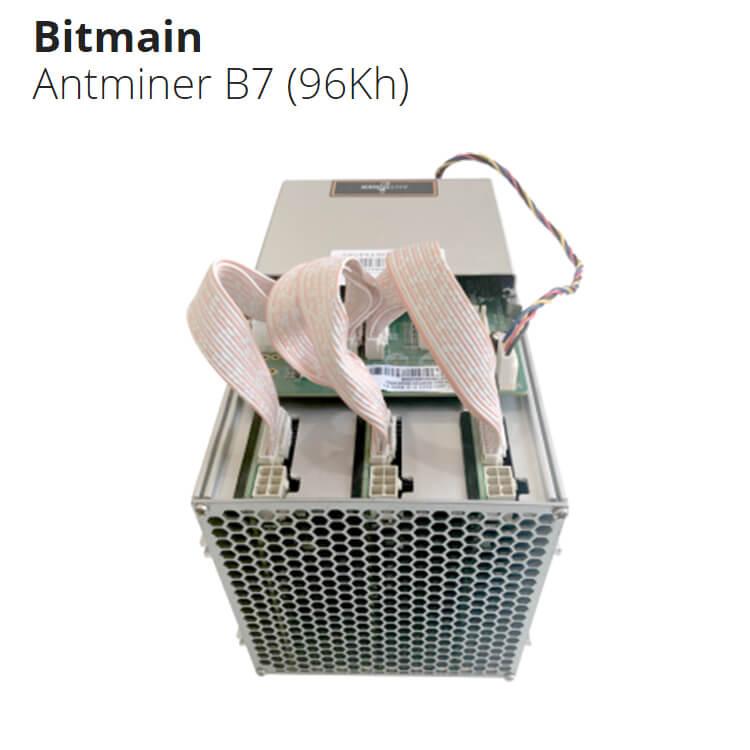 ASIC Antminer B7 96 KHs Bitmain - ťažba kryptomeny Tensority_1