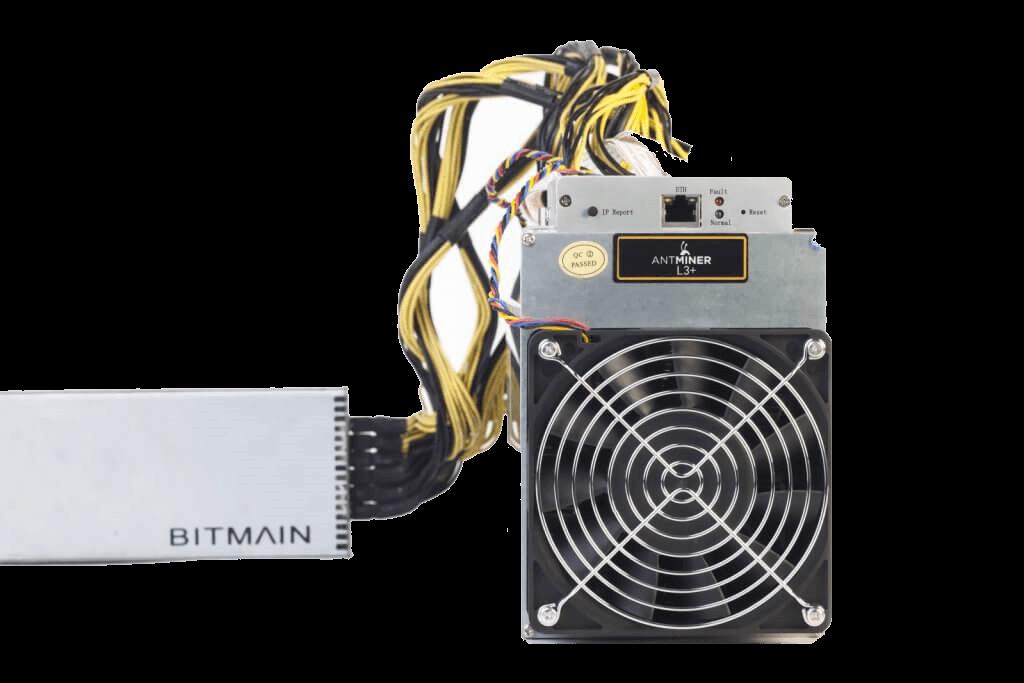 ASIC Antminer miner L3++ - ťažba kryptomeny Litecoin (Bitmain) PNG