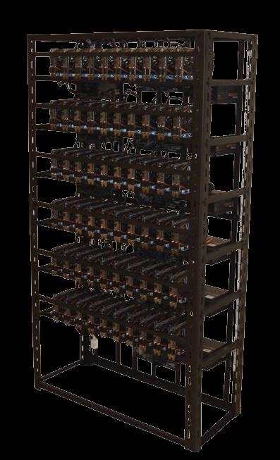 GPU Mining Rig na ťažbu kryptomien - Enterprise so 60 x GPU
