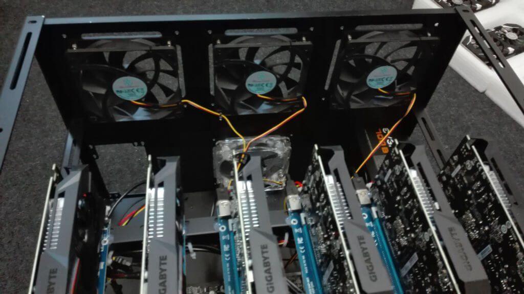 Profi výroba a Predaj minerov - GPU rigov na ťaženie kryptomeny