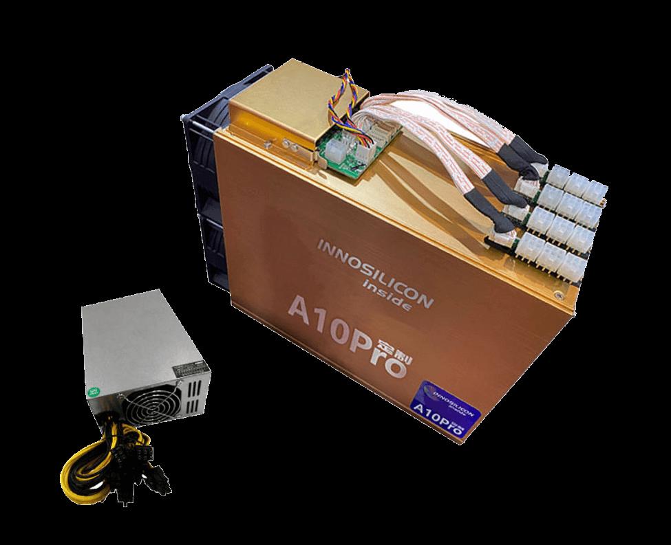 Innosilicon A10 PRO+ 720MHs (6GB) - tažba Ethereum - ETH miner_1