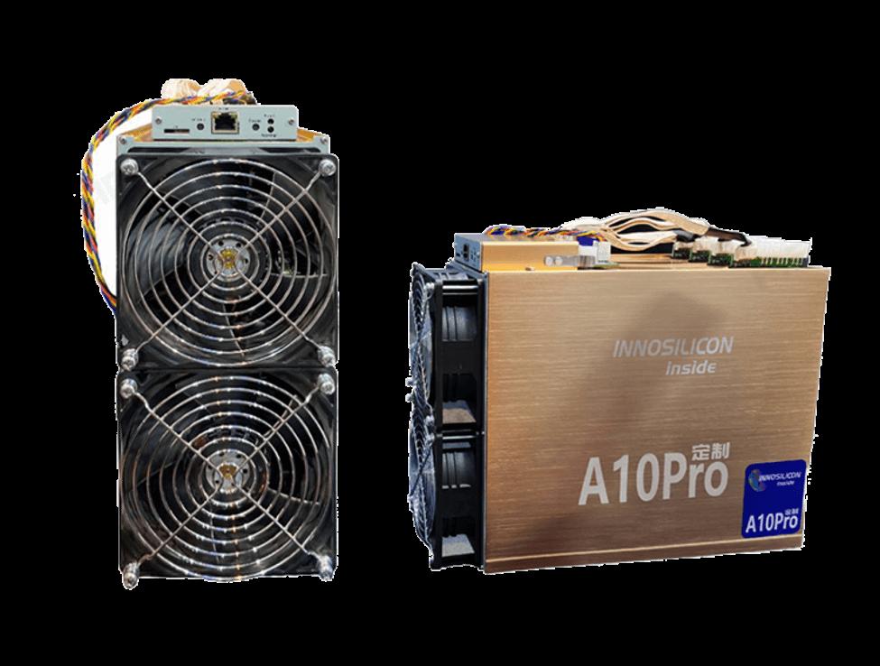 Innosilicon A10 PRO+ 720MHs (6GB) - tažba Ethereum - ETH miner_2