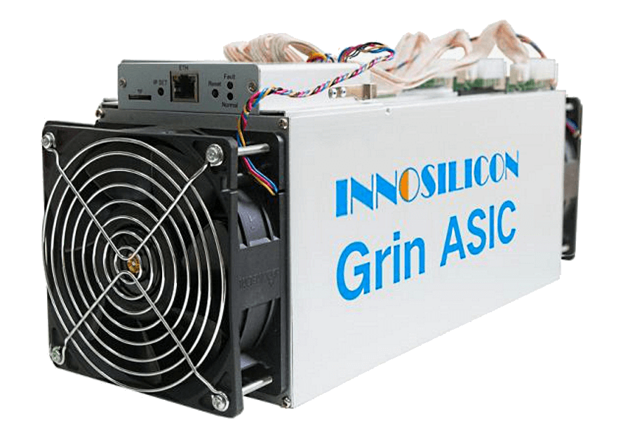 Innosilicon G32-500 (100 GPS) – GRIN ťažba (miner)