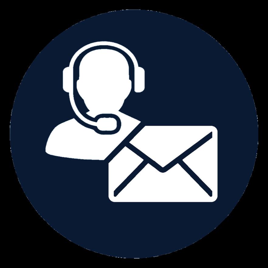 Podpora - Telefonicky, Emailom, Live Chat1